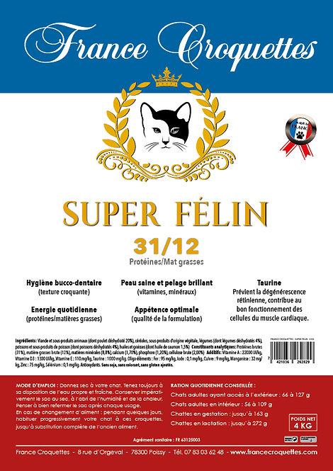 SUPER FELIN 31/12 - sac 4 kg