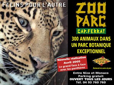 Campagne zoo du Cap Ferrat