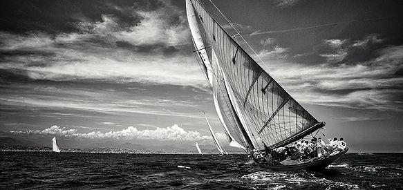 Les Voiles d'Antibes en photo par Stéphane Gamelin