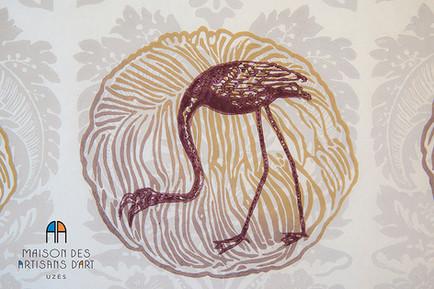 Artiste exposé à la Maison des Artisans d'Art - Uzès