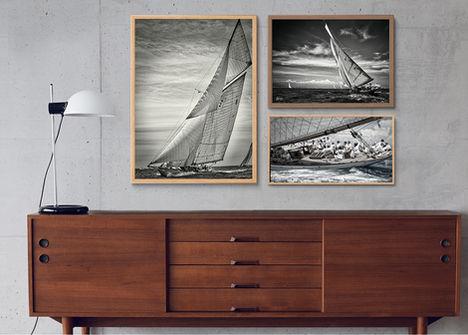 Décoration intérieure nautique avec sea to see