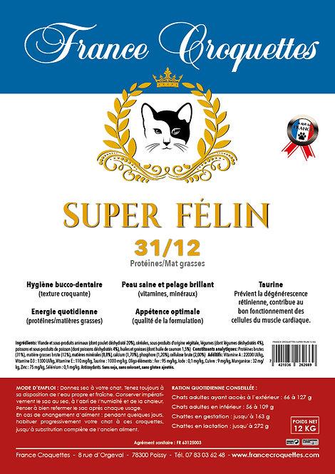 SUPER FELIN 31/12 - sac 12 kg