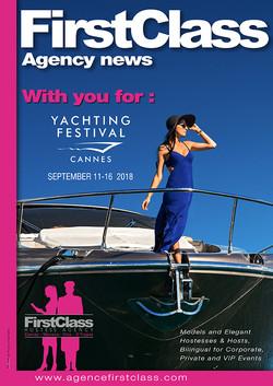 AgenceFirstClass au Cannes Boat show