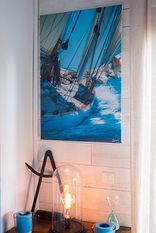 Tirage sur toile des voiles d'Antibes, sur sea to see