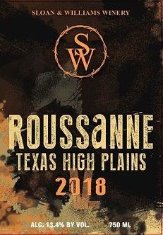 2018 ROUSSANNE - TEXAS HIGH PLAINS