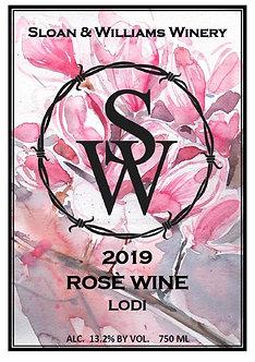 2019 Rosé Wine - Lodi