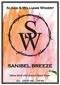 Sanibel Breeze Peach Wine