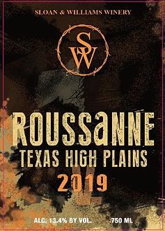 2019 ROUSSANNE - TEXAS HIGH PLAINS