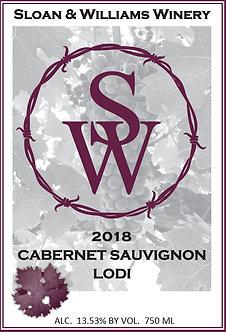 2018 CABERNET SAUVIGNON - LODI, CA