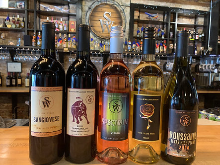 Texas High Plains 5 Pack Wine Collection