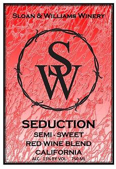 Seduction Semi-Sweet Red Wine Blend