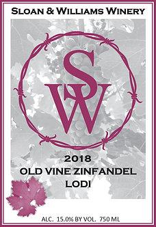 2018 OLD VINE ZINFANDEL - LODI, CA