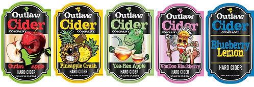 Outlaw Hard Cider Sampler Case Pack