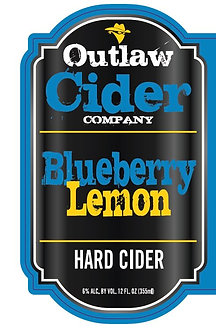 Blueberry Lemon Hard Cider