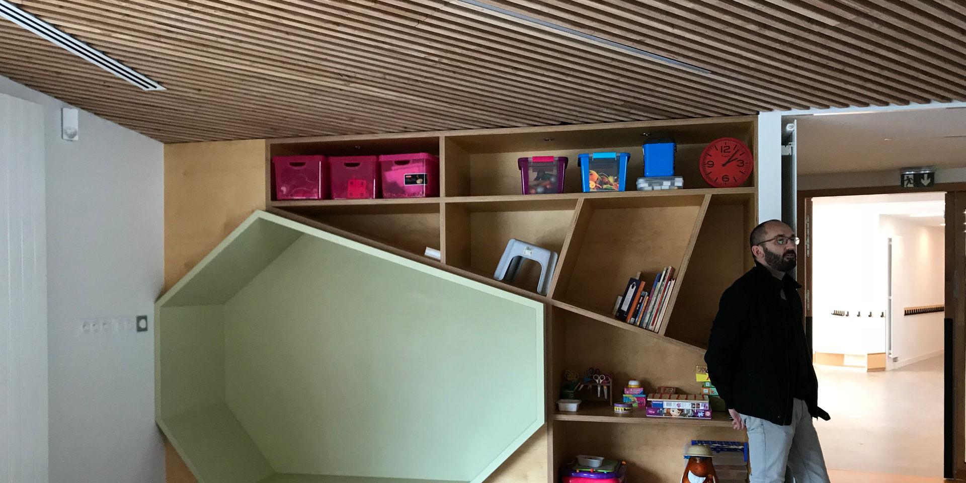 Pôle enfance - Brains - Drodelot Architecte