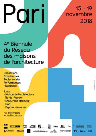 4e BIENNALE DU RÉSEAU DES MAISONS DE L'ARCHITECTURE