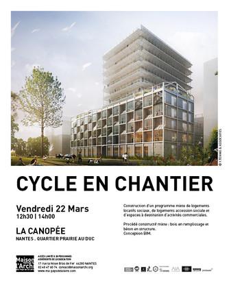 VISITE DE CHANTIER                                            VENDREDI 22 MARS 12h30 > 14h00