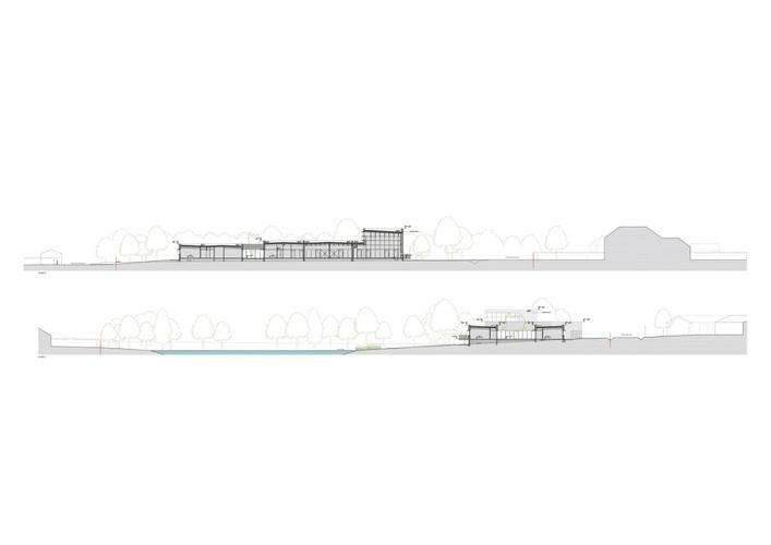 Mairie Médiathèque - Le Cellier -  ARCHITECTURE BLANCHARD MARSAULT PONDEVIE