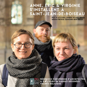 RÉSIDENCE EUROPÉENNE D'ARCHITECTES & DE DESSINATEURS FRANCE-BELGIQUE