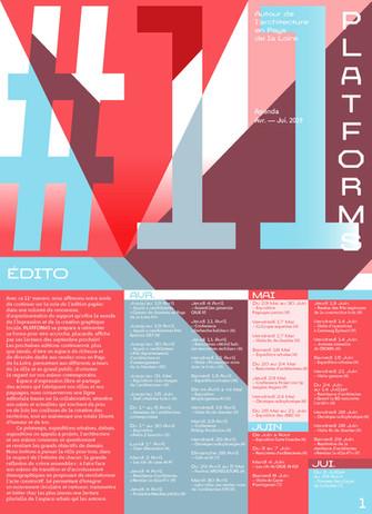 Platforms #11 ! Vers une forme réinventée