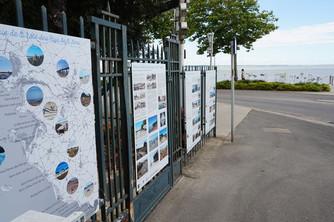 Petites architectures de plage à Saint-Nazaire