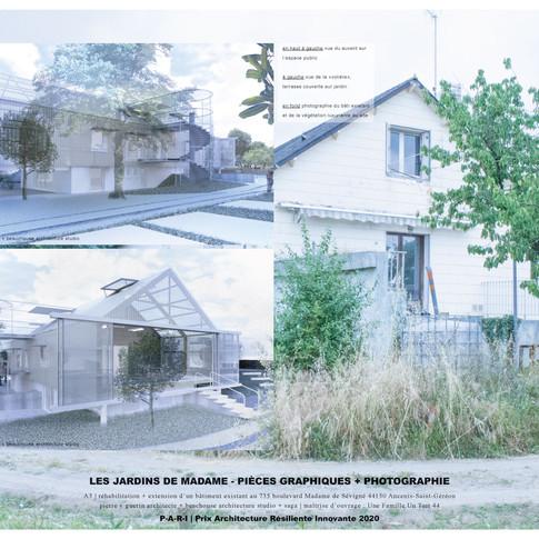 Les jardins de madame . Pierre Y Guerin