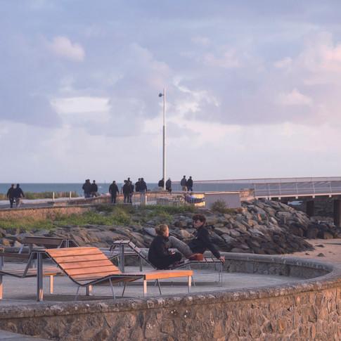 Front de mer . Pornichet . Magnum architectes urbanistes