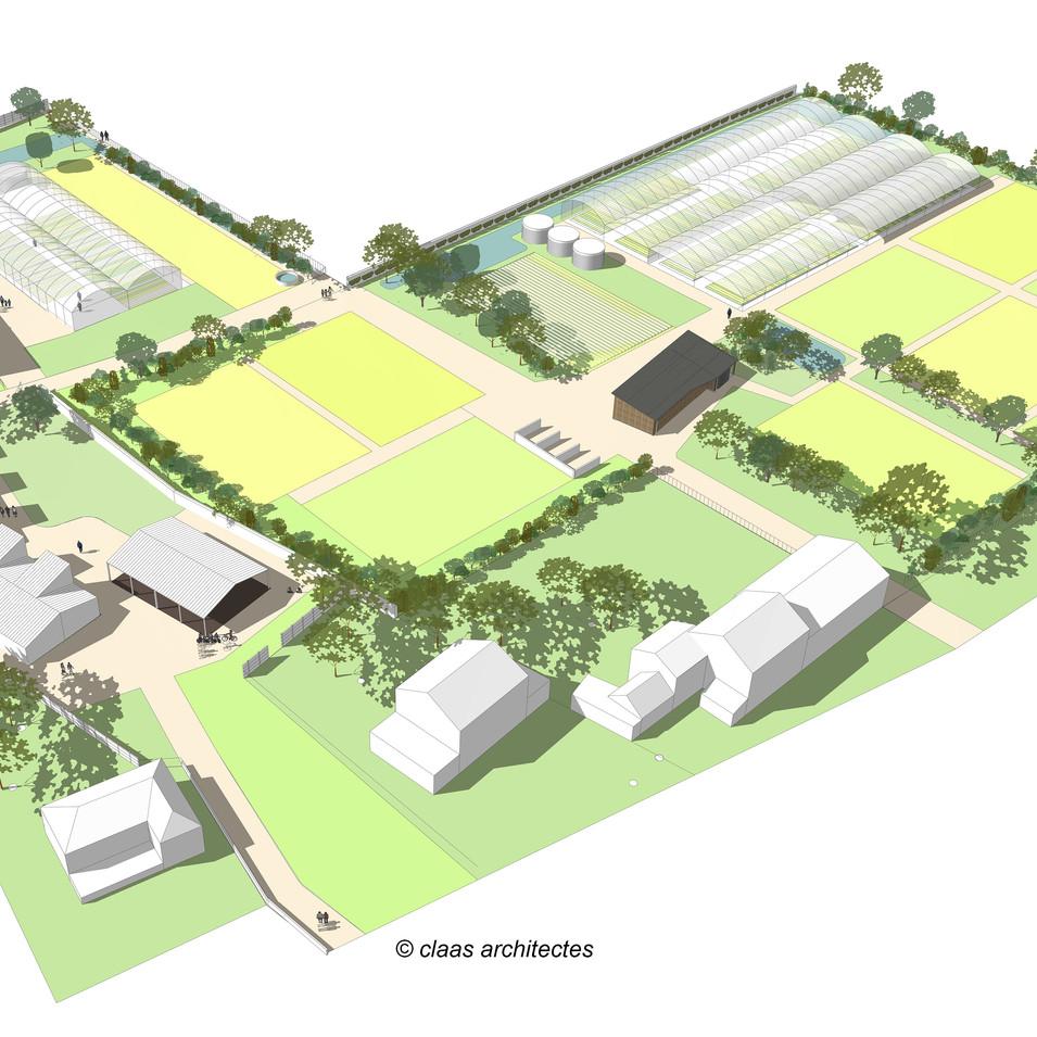 Louetrie - fermes urbaines - Claas.