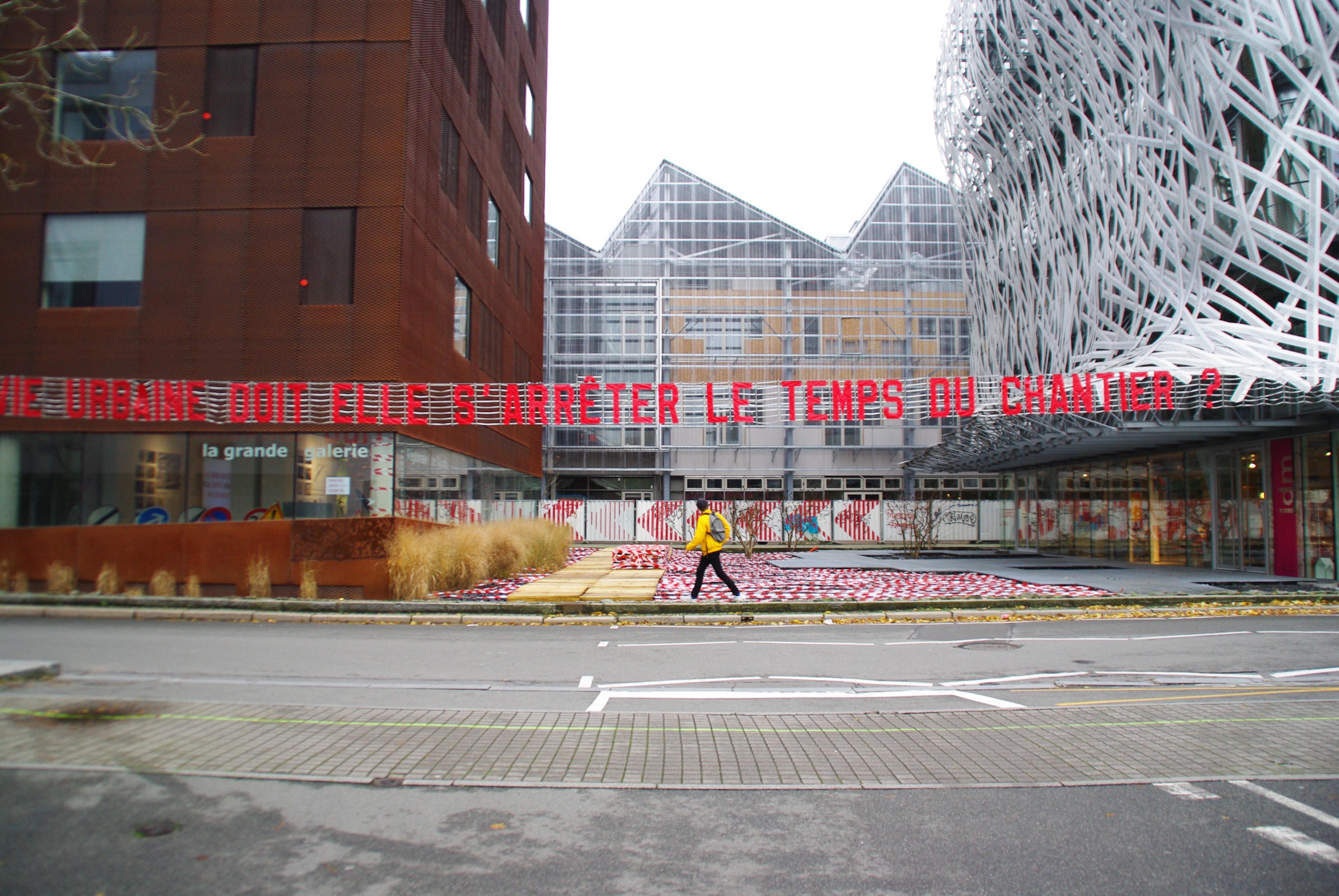 La vie urbaine le temps du chantier