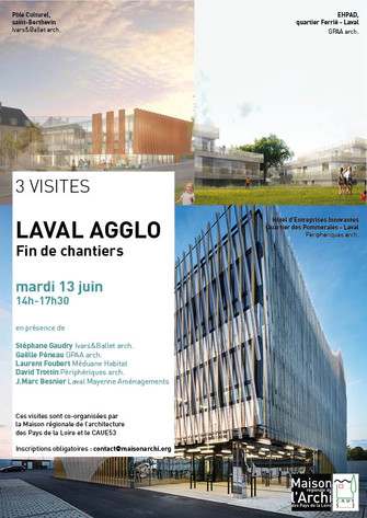 13 juin, 3 visites à Laval