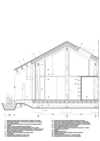 Pavillon Scierie - Corzé - Atelier Ramdam