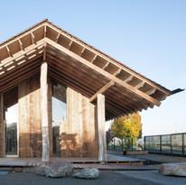 Pavillon d'accueil - Corzé - atelier ramdam