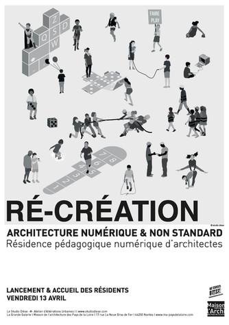 LANCEMENT DE LA RÉSIDENCE PÉDAGOGIQUE & NUMÉRIQUE D'ARCHITECTES