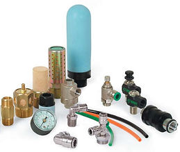 pneumatic fittings, silnecers, quick exhaust valves, numatics, pneuforce, tuibing