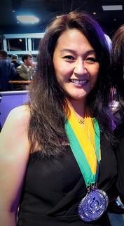 Janine Readers' Favorite Awards Medals 1