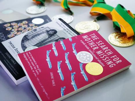 Janine Readers' Favorite Awards Books 3.