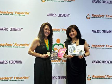 Janine Readers' Favorite Awards Medals 5