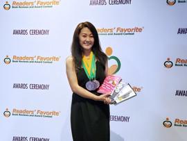 Janine Readers' Favorite Awards Medals 2