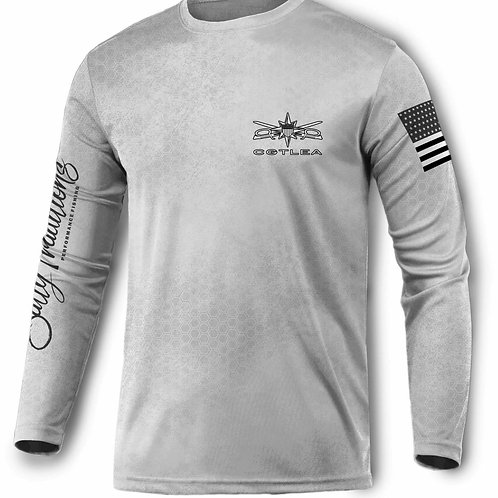CGTLEA NOLA White Performance Shirt