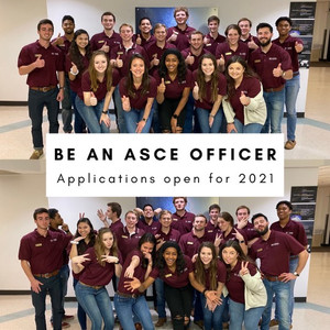 2021 Officer Applications Are Open!