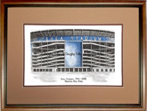 Shea Stadium, Framed