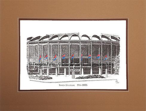 Busch Stadium, 1966 - 2003, Matted
