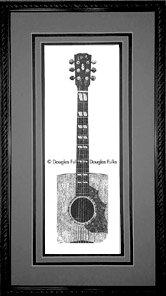 Gibson Songwriter, Framed