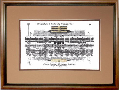 Michie Stadium, Framed