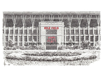 Kyle Field (New), Print