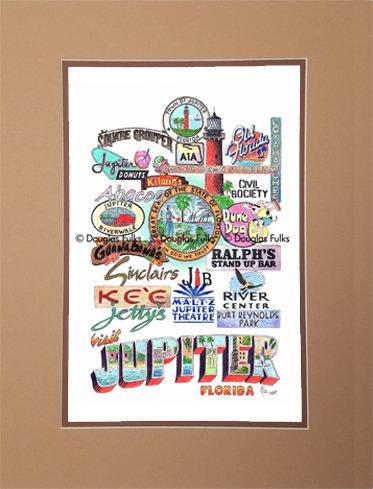 Jupiter, Florida Matted