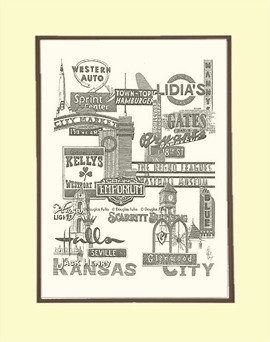 Kansas City Panoply #1, Matted
