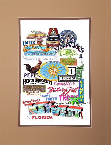 Key West, Matted