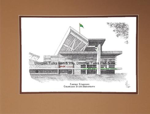 Canvas Stadium, matted