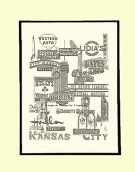 Kansas City Panoply #1, Matted